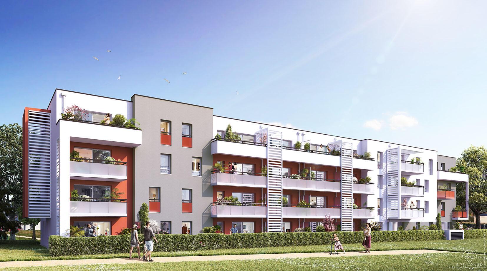 Programme Immobilier Loi LMNP situé à Toulouse 31